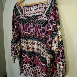Plus Size Fashion Bug Tunic Size 3X
